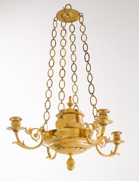 schwedenkronleuchterampelempirebronzevergoldetantikkristallleuchter - Bronze Kronleuchter