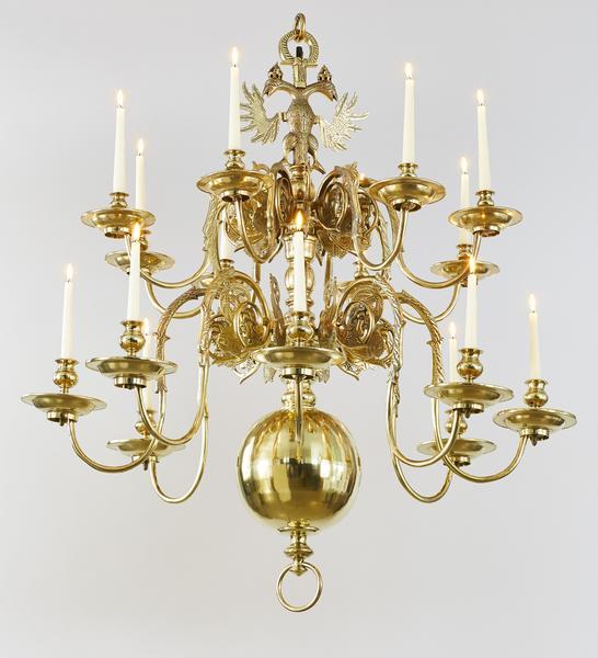 Viebahn fine arts lighting chandelier dutch 19th century baroquechandelierbrassantiqueperiodchandeliercandelabracandlesticks aloadofball Images