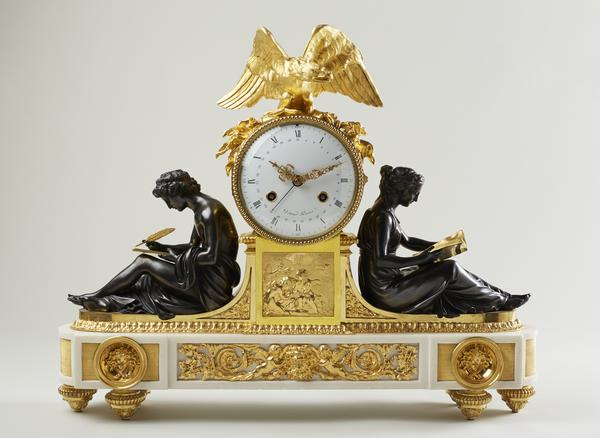 Mantel clock,table clock,ormolu,bronze,Francois Remond,Detour,antique,clock