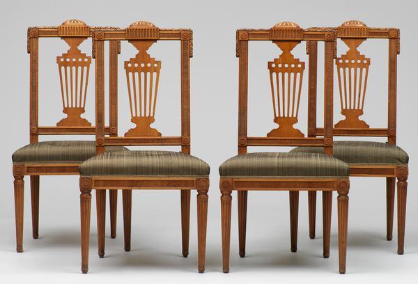 Viebahn Fine Arts Sitzmöbel Folge Von Vier Stühlen Neuwied Um