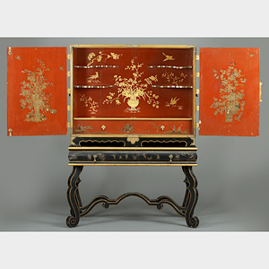 A Lacquered Cabinet